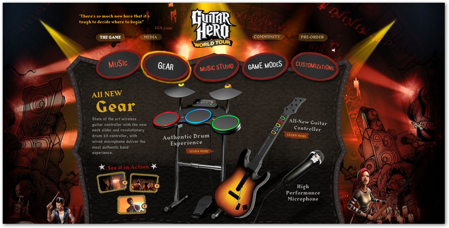 Guitar Hero World Tour released today