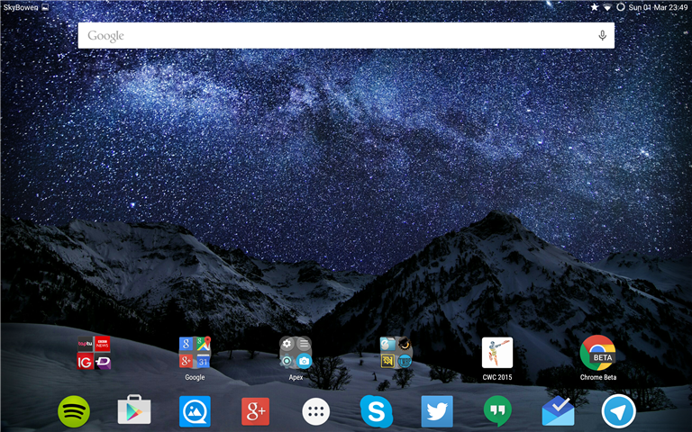 This is Android 5.0.2. Lollipop with the Apex Launcher.