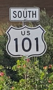 South bound Route 101