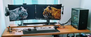 It's Upgrade Time – New Desktop build, LCD, Soundbar and Standing Desk